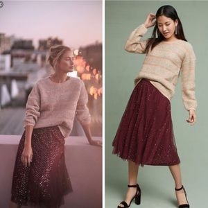 Anthropologie HD in Paris | Everly Tulle Skirt